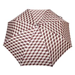Parapluie pliant O/F Automatique <br/>Cubic Gris