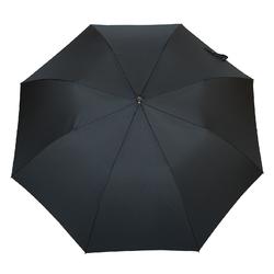 Parapluie canne pliant  <br/>Noir