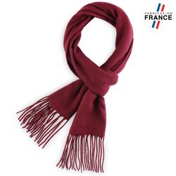Echarpe FELY Bordeaux uni