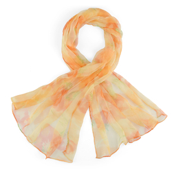 Foulard mousseline de soie <br/>Ulica Orange