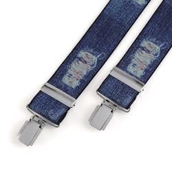 Bretelles Jeans Kurt - 3,5 cm