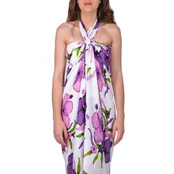 Paréo Batik Hibiscus <br/>2 coloris