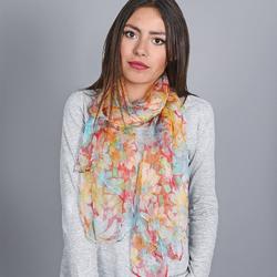 Foulard mousseline de soie Nuée de Marguerites