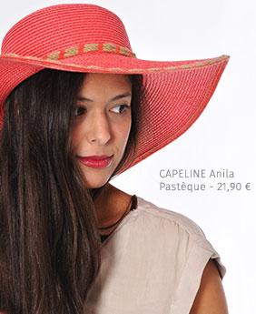 CAPELINE Anila Pastèque - 21,90€