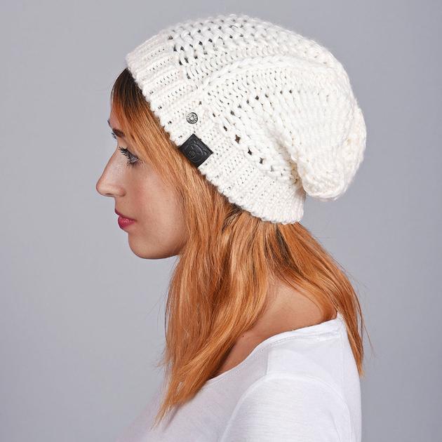 bonnet femme blanc