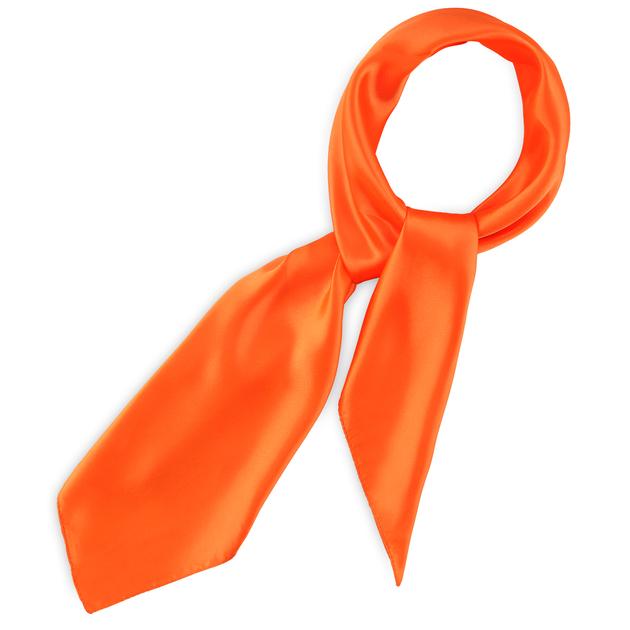 grand foulard carr orange uni. Black Bedroom Furniture Sets. Home Design Ideas