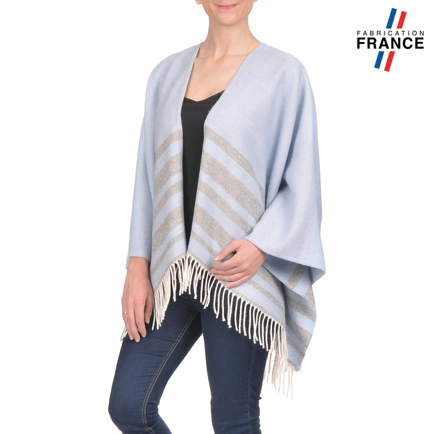 AT-03213-V16-poncho-franges-a-rayures-bleu-ciel-gris