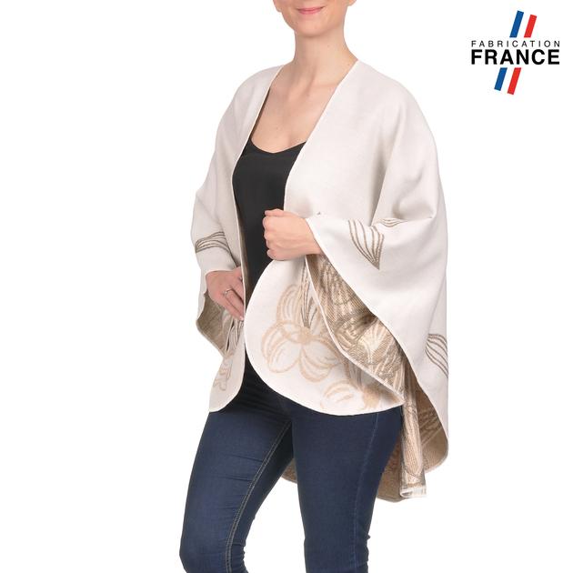 AT-03255-V16-poncho-femme-blanc-fleurs-beige-fabrique-en-france