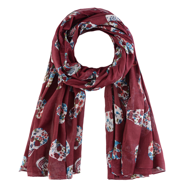 AT-03712-bordeaux-F16-foulard-cheche-tetes-de-mort-rouge