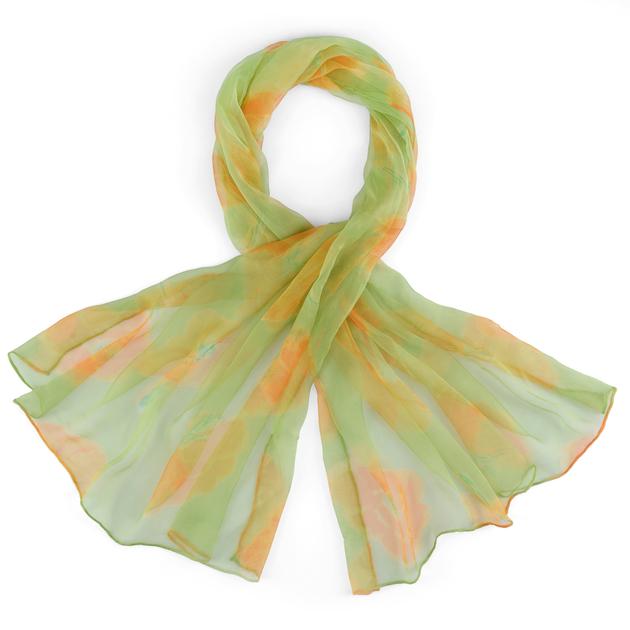 AT-03730-foulard-mousseline-de-soie-vert-motifs-floraux-F16