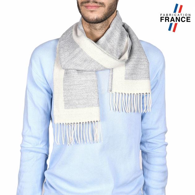 AT-03743-blanc-gris-echarpe-homme-franges-clair-V16