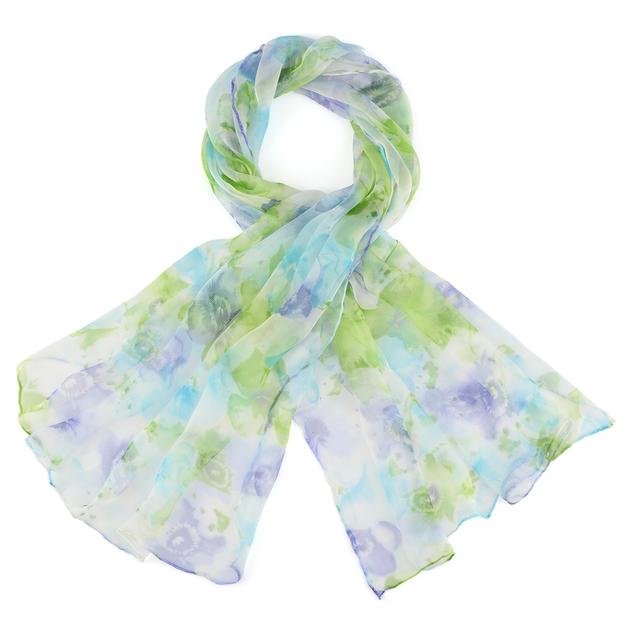 AT-03831-vert-bleu-F16-foulard-mousseline-soie-fleurs-pastel