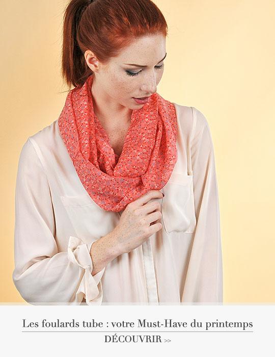 Les foulards tube : votre Must-Have du printemps