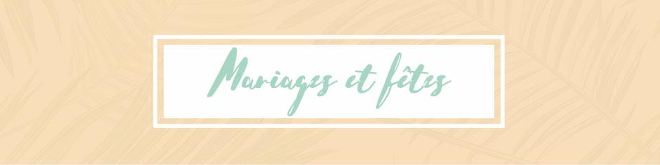 Sélection foulards mariages et fêtes de printemps