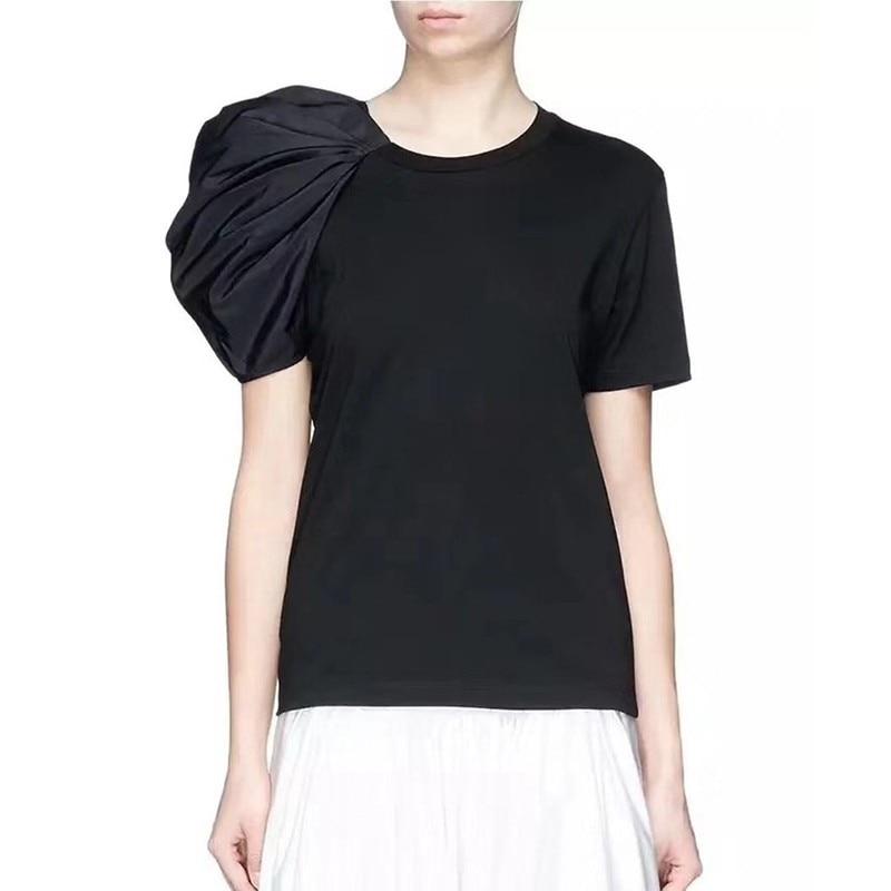 Tee Shirt à Manche Bouffante LUDO 2 Coloris