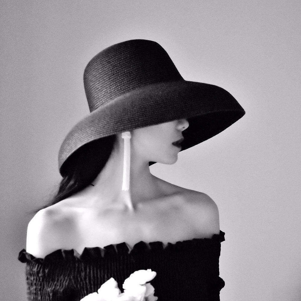 Large Chapeau de Paille Rétro LAMAX Différents Coloris