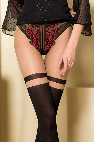 Collants Fantaisie TI104 Gold collection