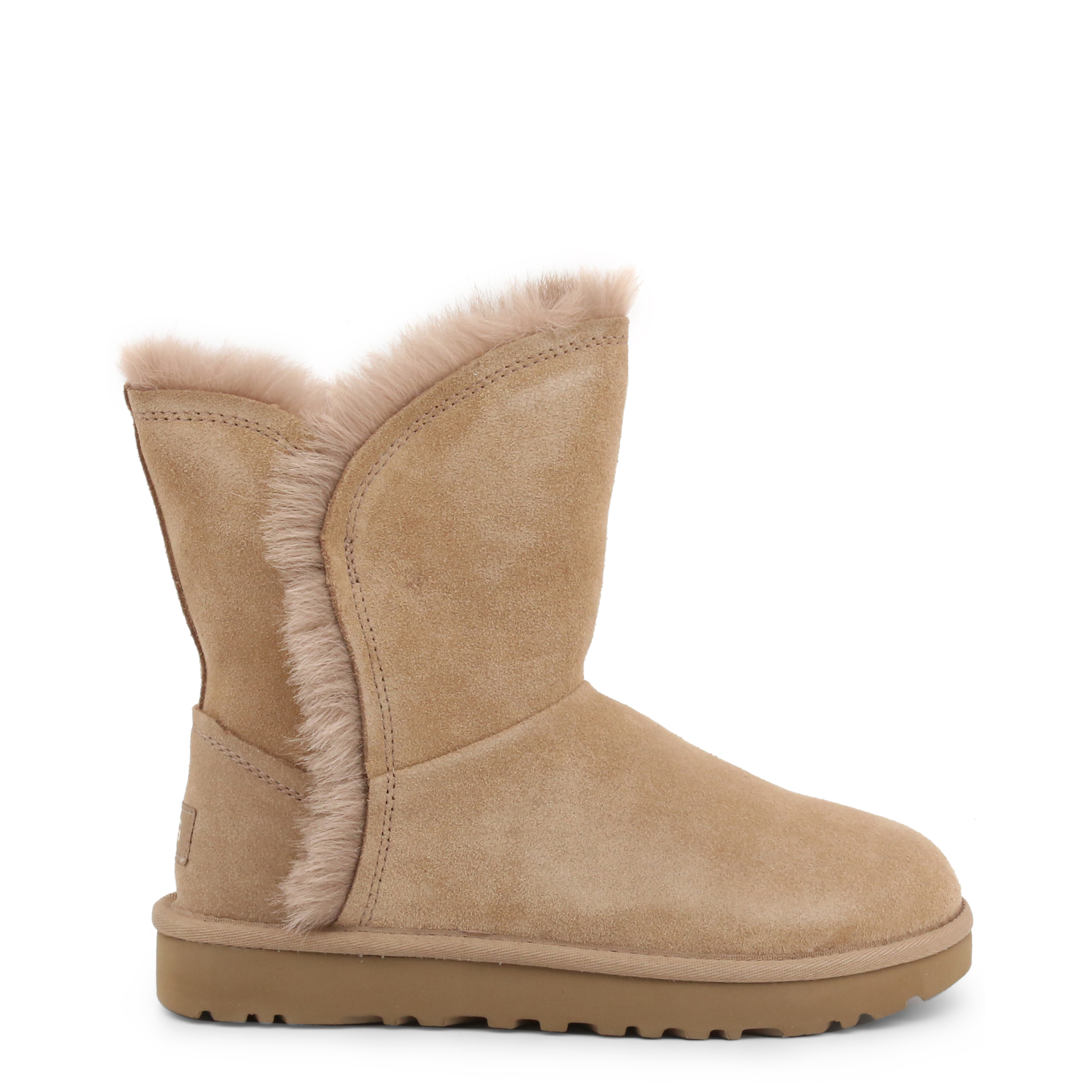 Bottines Fourrées UGG FLUFF_HIGH-LOW_1103746 AMPHORA Beige