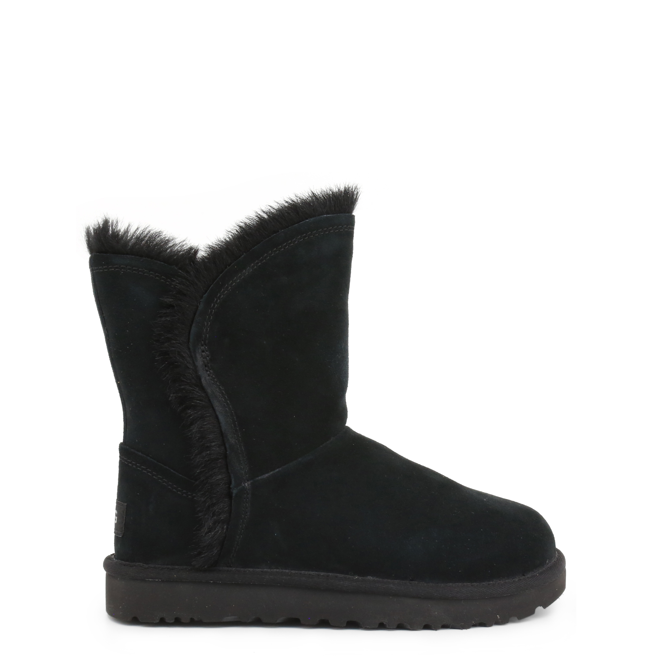 Bottines Fourrées UGG FLUFF_HIGH-LOW_1103746 BLACK Noires