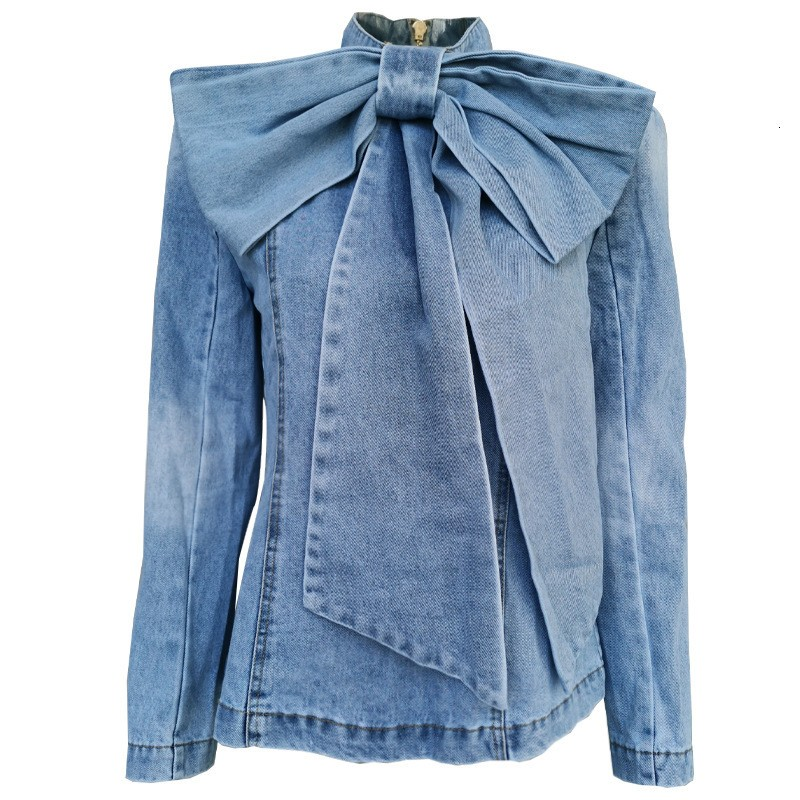 Blouse Cravate Denim Esprit Vintage LENIA