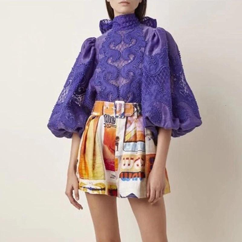 Blouse Dentelle Crochet ANDREAS 3 Coloris