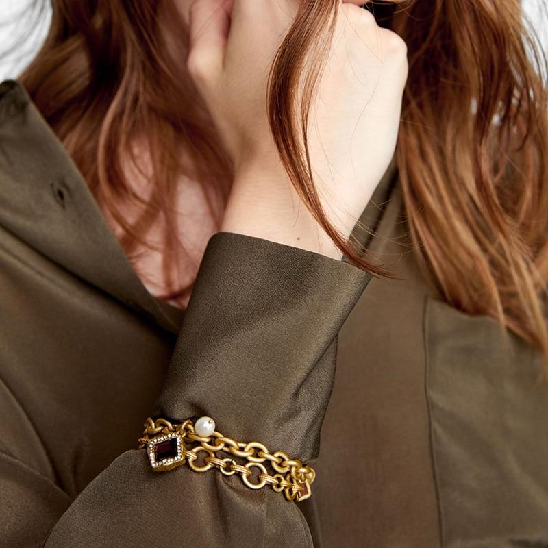 Ensemble de bracelets Maillons Esprit Vintage
