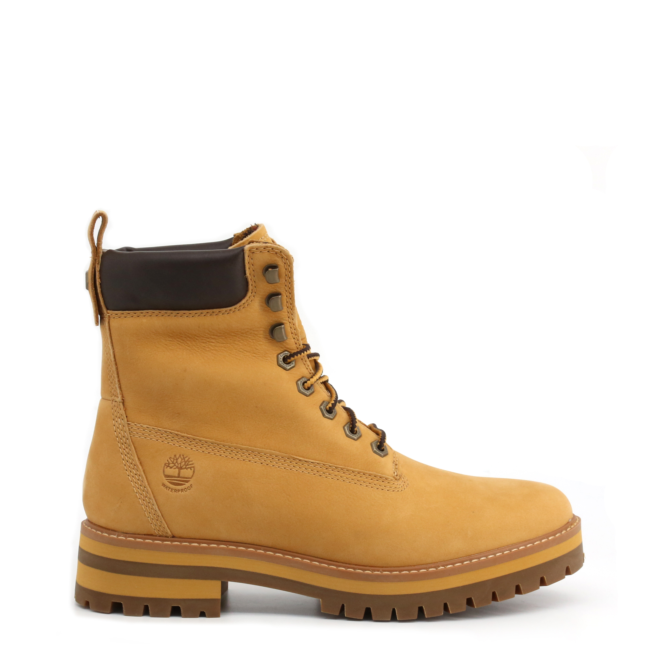 Boots Bottines CURMA Camel Timberland