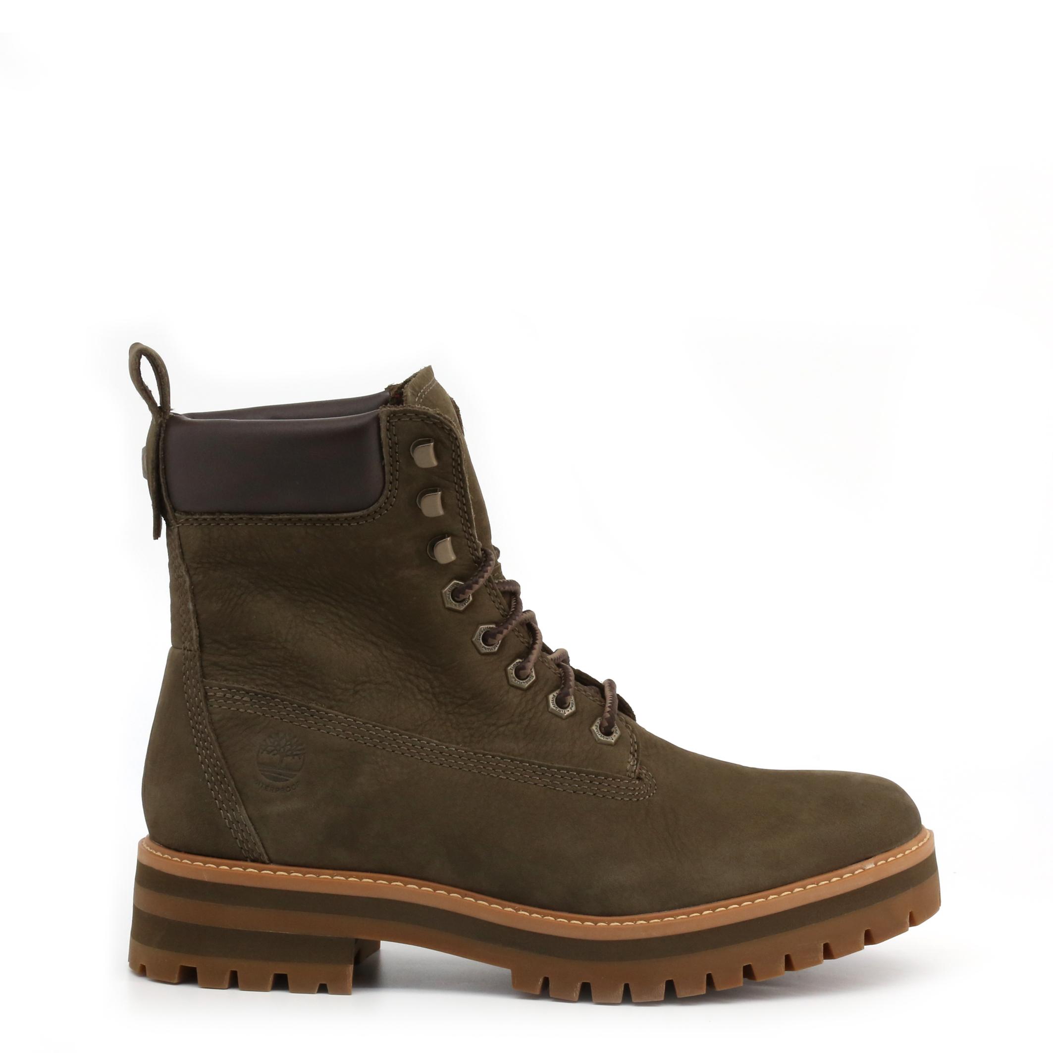 Boots Bottines CURMA Chocolat Timberland