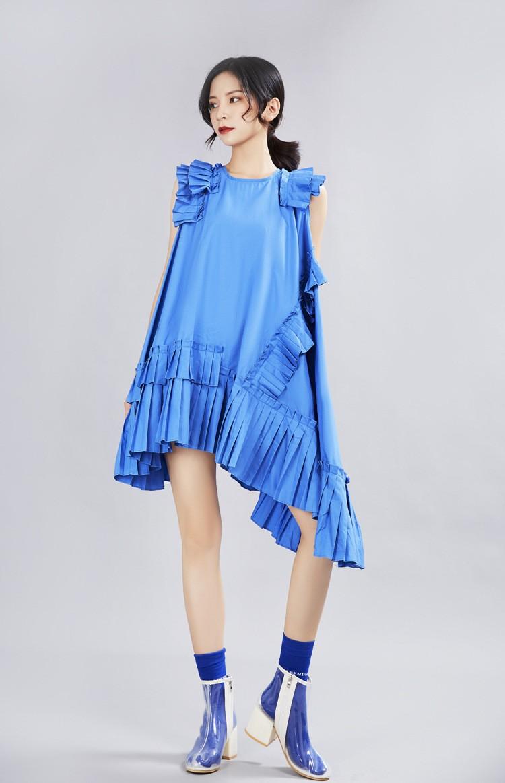 Robe Volantée Asymétrique ZANE 3 Coloris