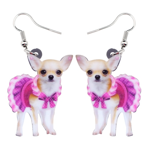 Boucles d\'Oreilles Chihuahua Dog