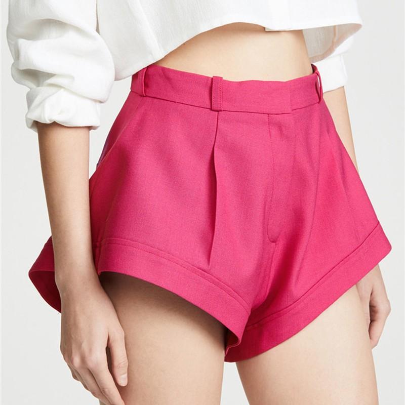 Short Rose Taille Haute SIMONA