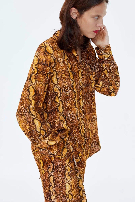 Fl-tri-blusa-feminina-kimono-blouse-blusas-mujer-de-mod-imprimer-Serpent-peau-2018-chemise-femmes