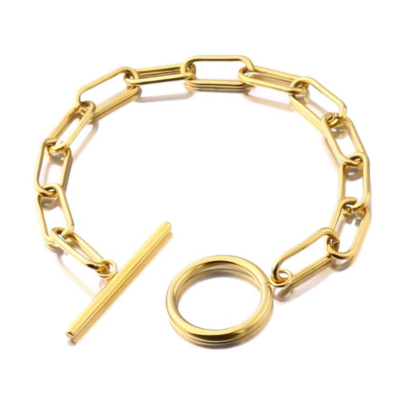 Bracelet Chaine en Acier Inoxydable HEPS 2 Coloris