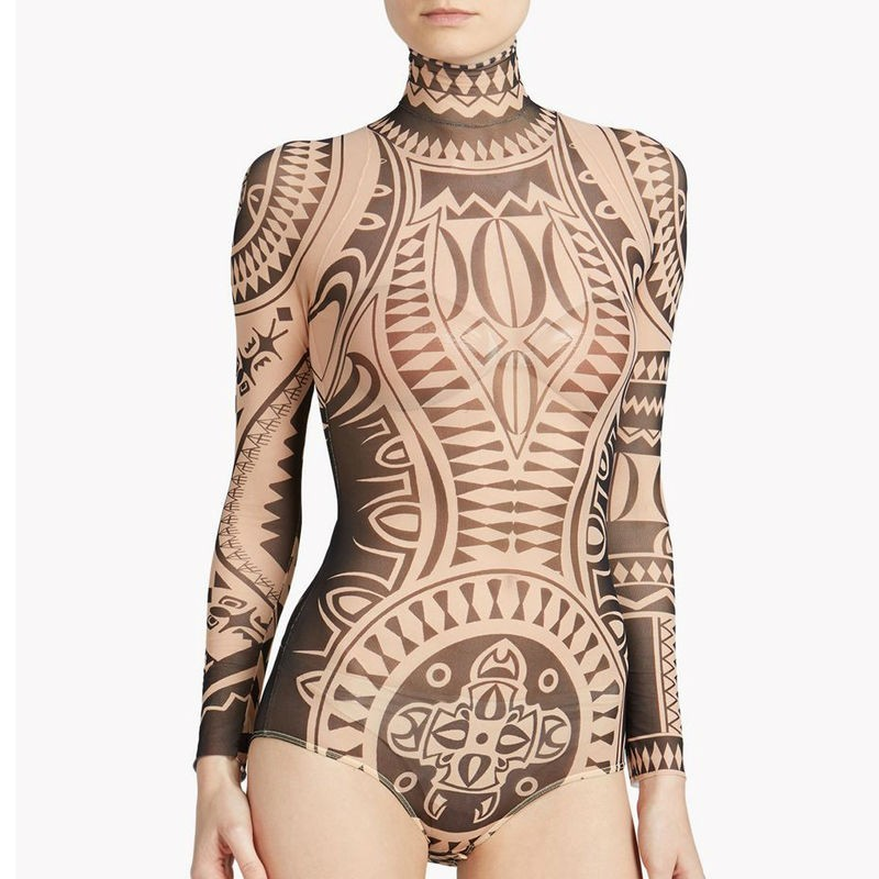 Body Tatouage Effet Seconde Peau Tribal ROBY