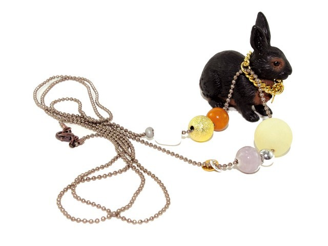 Collier RABY LE LAPIN CHIC