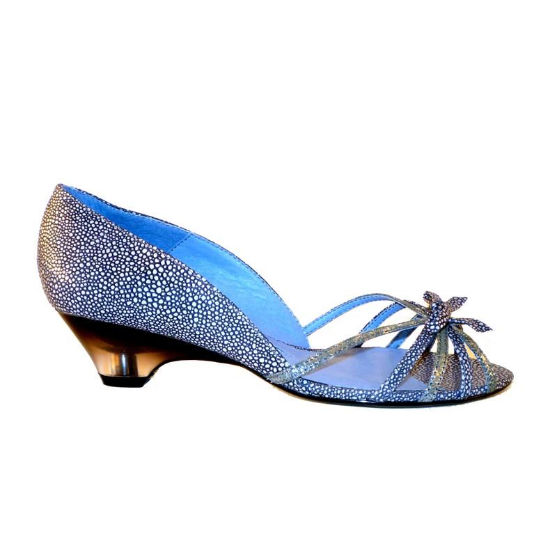 Sandales ASTEROPE Argentées Silver Blue