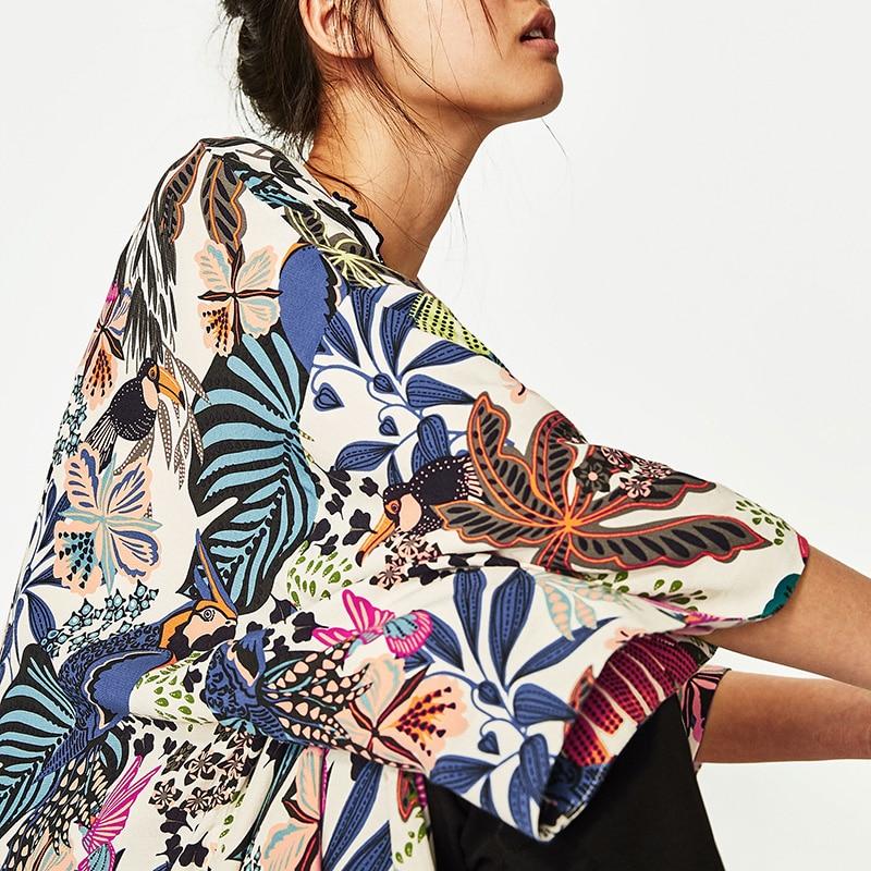 Veste Kimono Tropicale Colorée WEAR