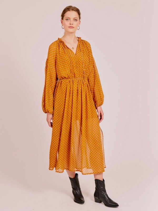 Robe Loose Esprit Vintage à Pois ISABEL