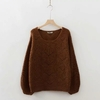 Nouveau-femmes-tricot-couleur-avant-et-apr-s-deux-porter-chandail-Crochet-d-contract-creux-automne