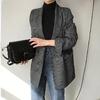 Veste-en-coton-carreaux-manches-longues-pour-femme-manteau-vintage-causual-blazer-carreaux