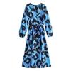Withered-2019-england-style-vintage-lantern-sleeve-v-neck-sexy-midi-dress-women-vestidos-de-fiesta