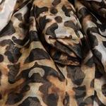 Deutwinstyle-chemise-l-opard-femme-mousseline-de-soie-lacets-arc-lanterne-manches-surdimensionn-Blouse-haut-pour