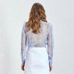 Deuxtwinstyle-cor-en-Hit-couleur-Perspective-Sexy-Blouse-femmes-arc-manches-longues-surdimensionn-chemise-femme-t