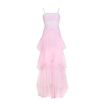 TWOTWINSTYLE-Strap-Dresses-Female-Sleeveless-High-Waist-Hollow-Out-Patchwork-Mesh-Dress-Female-Fashion-Clothes-2018