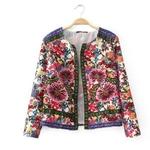 Cardigan-2014-Fashion-Women-Summer-Spring-Jacket-European-Style-Blouse-Floral-Print-Blusas-de-seda-WT