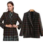COZARII-2018-casaco-feminino-blazers-england-plaid-striped-double-breasted-women-bomber-blazers-jacket-plus-size