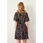 Trendyol-Black-Patterned-Dress-TWOSS19LJ0132