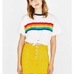 Rainbow-Stripe-T-Shirt-Women-Summer-Harajuku-Aesthetic-Vegan-Feminist-Vintage-Grunge-Streetwear-Cropped-White-Tops