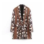 Femmes-vintage-imprim-floral-blazer-ceintures-patchwork-manches-longues-tenue-de-bureau-manteau-v-tements-d