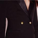 HYH-HAOYIHUI-2019-tendance-Design-mode-Simple-beau-Vintage-bouton-hauts-personnalit-Sexy-costume-Type-couleur